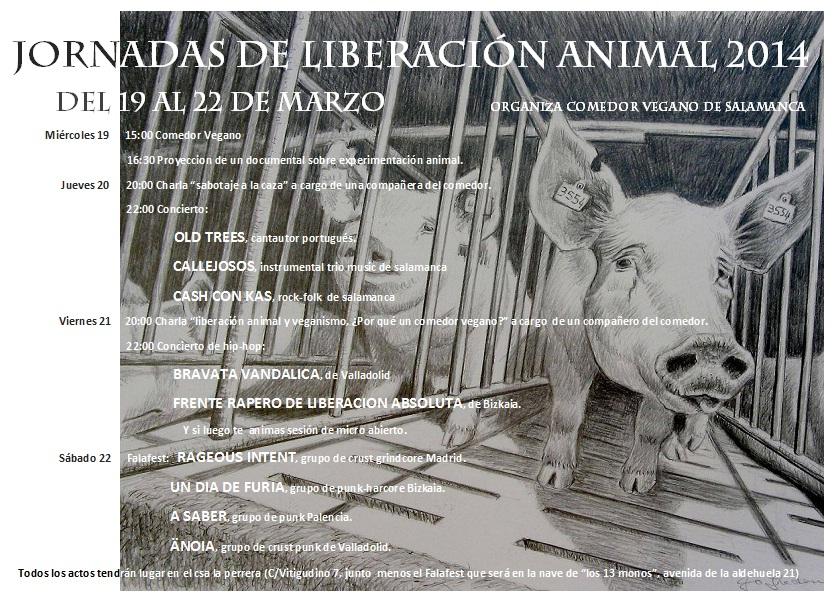 cartel jornadas comedor 2014